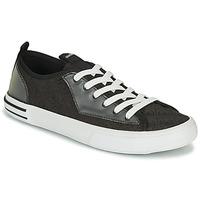 Pantofi Bărbați Pantofi sport Casual Guess NETTUNO LOW Negru / Gri