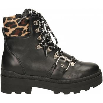 Pantofi Femei Ghete Janet Sport AMANDA/EUGENIA nero-beige