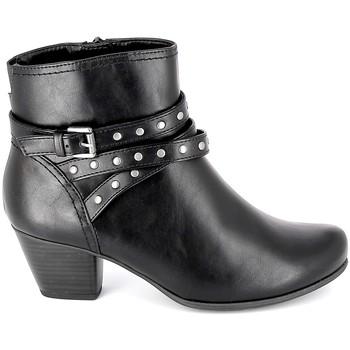 Pantofi Femei Botine Jana Boots 25362-23 Noir Negru