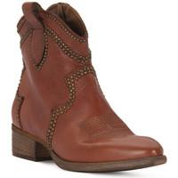 Pantofi Femei Botine Priv Lab ROSSO BUFALO Rosso