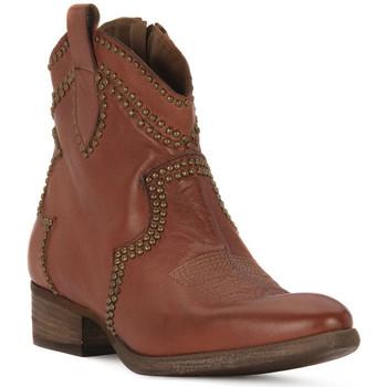 Pantofi Femei Botine Priv Lab CUOIO BUFALO Marrone