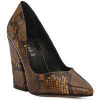 Pantofi Femei Pantofi cu toc Priv Lab DECOLTE PITONE Marrone