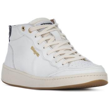Pantofi Femei Pantofi sport stil gheata Blauer OLYMPIA HI Bianco