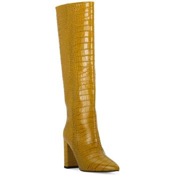 Pantofi Femei Cizme casual Priv Lab OCRA COCCO Giallo