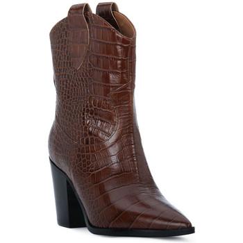 Pantofi Femei Botine Priv Lab CHOCO COCCO Marrone