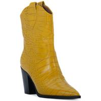 Pantofi Femei Botine Priv Lab OCRA COCCO Giallo