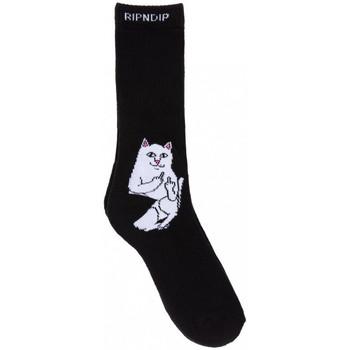 Accesorii textile Bărbați Sosete Ripndip Lord nermal socks Negru