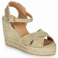 Pantofi Femei Sandale și Sandale cu talpă  joasă Castaner BROMELIA Auriu