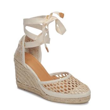 Pantofi Femei Sandale  Castaner CAROLA Crem