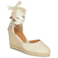 Pantofi Femei Sandale  Castaner CARINA Crem