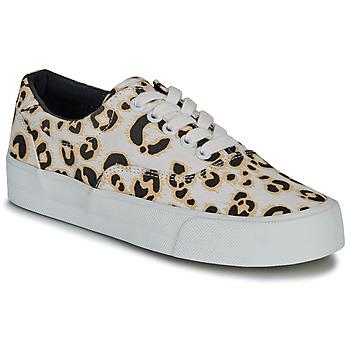 Pantofi Femei Pantofi sport Casual Superdry CLASSIC LACE UP TRAINER Leopard