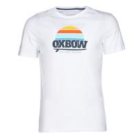 Îmbracaminte Bărbați Tricouri mânecă scurtă Oxbow M1TEKSO Alb
