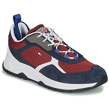 Pantofi Bărbați Pantofi sport Casual Tommy Hilfiger FASHION MIX SNEAKER Albastru