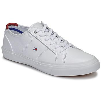 Pantofi Bărbați Pantofi sport Casual Tommy Hilfiger CORE CORPORATE FLAG SNEAKER Alb