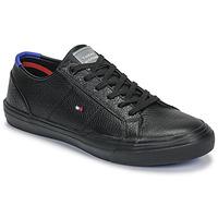 Pantofi Bărbați Pantofi sport Casual Tommy Hilfiger CORE CORPORATE FLAG SNEAKER Negru