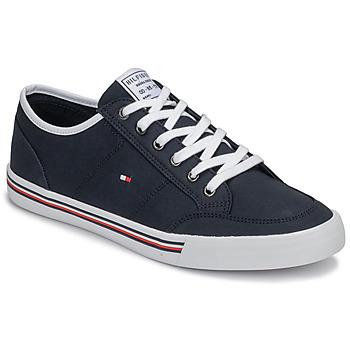 Pantofi Bărbați Pantofi sport Casual Tommy Hilfiger CORE CORPORATE TEXTILE SNEAKER Albastru