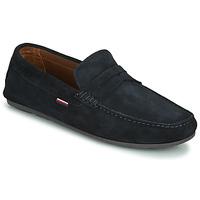 Pantofi Bărbați Mocasini Tommy Hilfiger CLASSIC SUEDE PENNY LOAFER Albastru