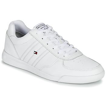 Pantofi Bărbați Pantofi sport Casual Tommy Hilfiger LIGHTWEIGHT LEATHER SNEAKER Alb