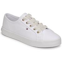 Pantofi Femei Pantofi sport Casual Tommy Hilfiger ESSENTIAL NAUTICAL SNEAKER Alb