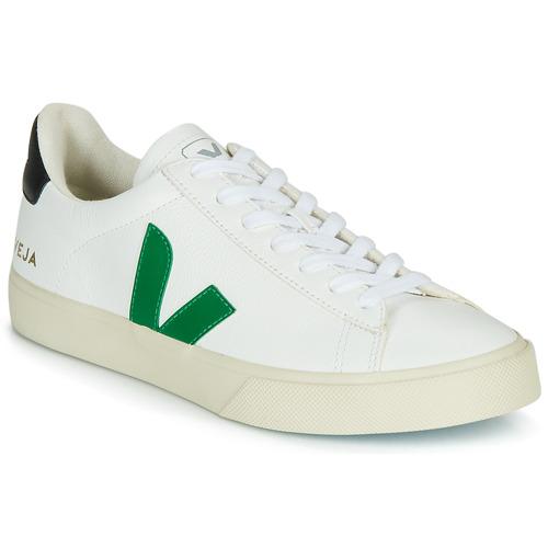 Pantofi Pantofi sport Casual Veja CAMPO Alb / Verde / Negru
