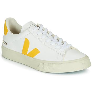 Pantofi Pantofi sport Casual Veja CAMPO Alb / Galben