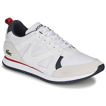 Pantofi Bărbați Pantofi sport Casual Lacoste AESTHET 120 2 SMA Alb / Albastru / Roșu