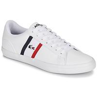 Pantofi Bărbați Pantofi sport Casual Lacoste LEROND TRI1 CMA Alb / Albastru / Roșu