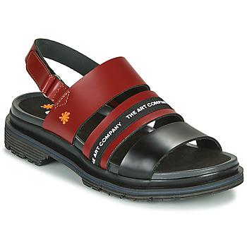 Pantofi Femei Sandale  Art BIRMINGHAM Bordo / Negru