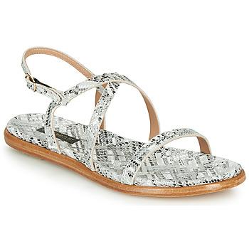 Pantofi Femei Sandale  Neosens AURORA Alb / Argintiu