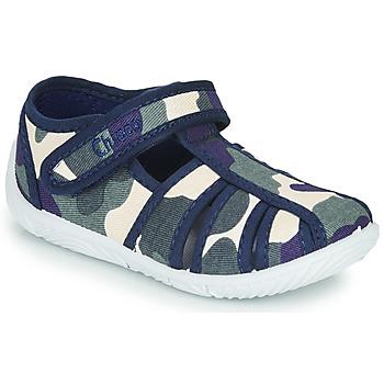 Pantofi Băieți Papuci de casă Chicco TULLIO Albastru / Alb