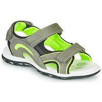 Pantofi Băieți Sandale sport Chicco CEDDER Gri / Verde