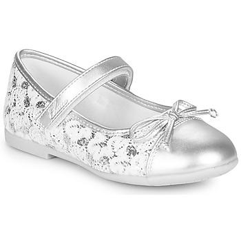 Pantofi Fete Balerin și Balerini cu curea Chicco CLELIANA Argintiu
