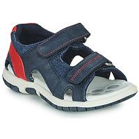Pantofi Băieți Sandale sport Chicco FLORIAN Bleumarin / Roșu