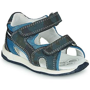 Pantofi Băieți Sandale sport Chicco GEREMIA Albastru