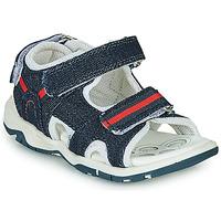 Pantofi Băieți Sandale sport Chicco COLBY Albastru / Roșu