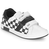 Pantofi Băieți Pantofi sport Casual Chicco CANDITO Alb / Negru