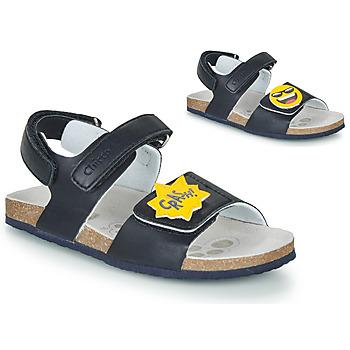 Pantofi Băieți Sandale  Chicco HAZEL Albastru / Galben