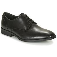 Pantofi Bărbați Pantofi Derby Clarks GILMAN PLAIN Negru