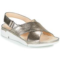 Pantofi Femei Sandale  Clarks Tri Alexia Argintiu