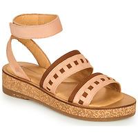 Pantofi Femei Sandale  El Naturalista TÜLBEND Roz / Maro