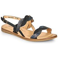 Pantofi Femei Sandale  El Naturalista TULIP Negru / Argintiu