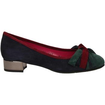Pantofi Femei Pantofi cu toc Le Babe VELOUR blu