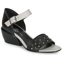 Pantofi Femei Sandale  Fru.it LEMMINE Negru / Alb