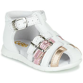 Pantofi Fete Sandale  GBB PERLE Alb