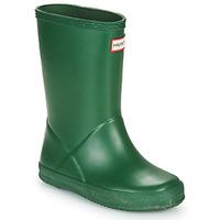 Pantofi Copii Cizme de cauciuc Hunter KIDS FIRST CLASSIC Verde