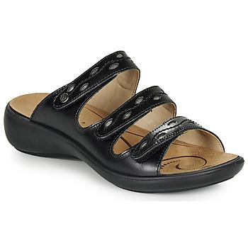 Pantofi Femei Papuci de vară Romika Westland IBIZA 66 Negru