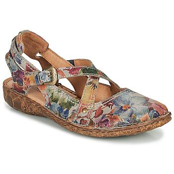 Pantofi Femei Sandale  Josef Seibel ROSALIE 13 Gri /  multicolor