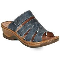 Pantofi Femei Papuci de vară Josef Seibel CATALONIA 49 Albastru