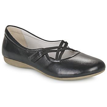 Pantofi Femei Balerin și Balerini cu curea Josef Seibel FIONA 39 Negru