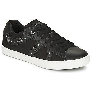 Pantofi Fete Pantofi sport Casual Geox J KILWI GIRL Negru